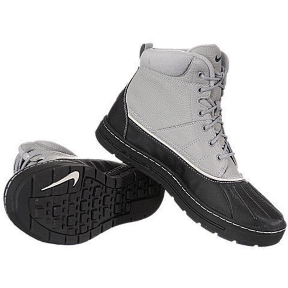 301a0b1df4c7 Men s Nike ACG Woodside Black Gray Boots. M 5a3a97fe05f430eee4047007